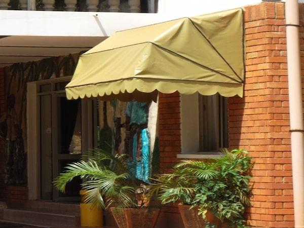 Beige Canopy